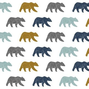 multi bear (extra small scale) || with gold