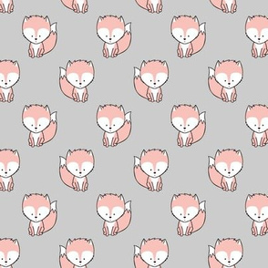 baby fox (small scale) || v3 on grey