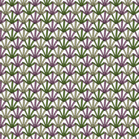 Diamond Fan fabric by seesawboomerang on Spoonflower - custom fabric