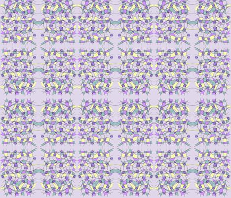 purple mirror fabric by unclemamma on Spoonflower - custom fabric