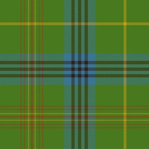 King Edward VII / King George IV tartan, 10""