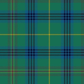 "King Edward VII / King George IV tartan, 7"" dark"