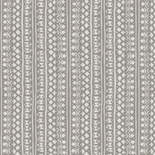 Ditsy Tribal Stripe Pebble