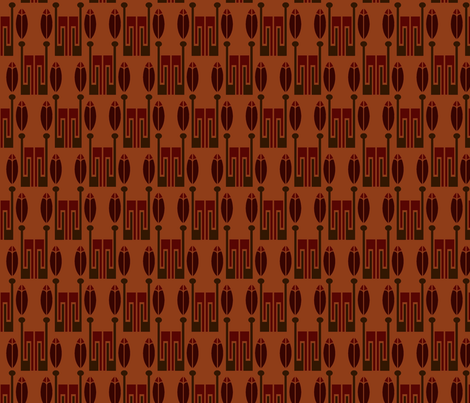 native deco 3B fabric by hannafate on Spoonflower - custom fabric