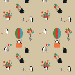 penguin party tan