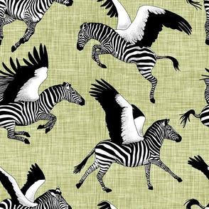 Zebrasus green