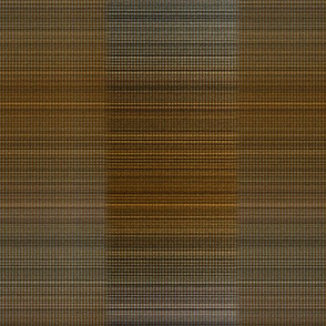 Warp weft copper plaid