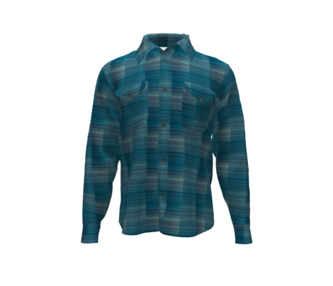 Woven teal-ombre
