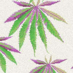 Cross-Stitch Cannabis