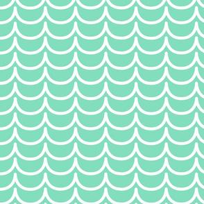 Mermaid Scales (Aqua)