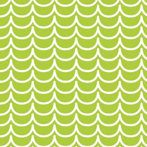 Mermaid Scales (Lime Green)