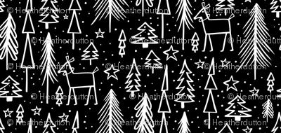 Winter Wonderland - Black & White