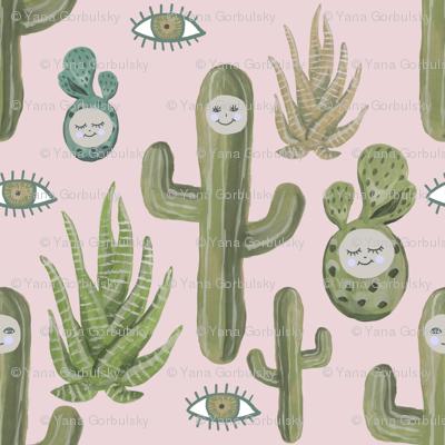 Eyes of the Desert (pink)