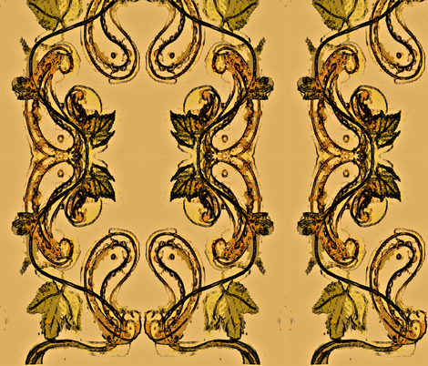 Danielle's Paisley fabric by karen_trout's_art on Spoonflower - custom fabric