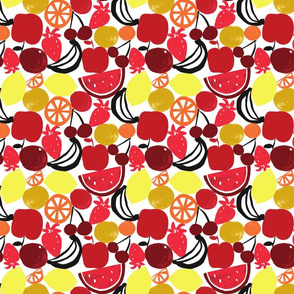 FRUIT WALL (small) RED/YELLOW