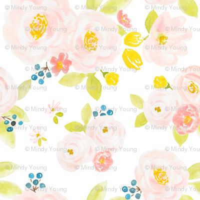 Indy Bloom Design Blueberries n Blossoms