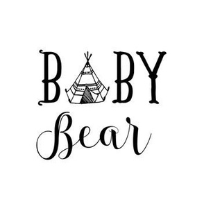 "7"" Baby Bear - Black"