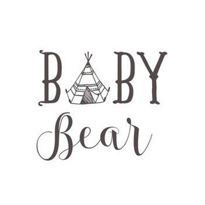 "7"" Baby Bear in Light Brown"