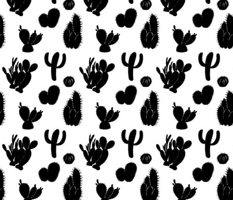 Cactus  fabric by nadiia_nemchenko on Spoonflower - custom fabric