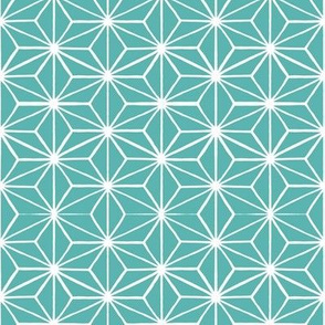 Star Tile Marine Green