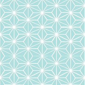 Star Tile Pale Robins Egg Blue