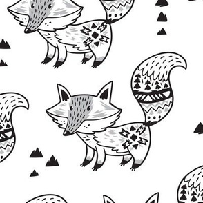 Ink foxes