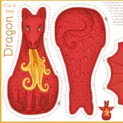 Dragon_mythical_creature_cut_and_sew_plushie_red_hazel_fisher_creations_shop_thumb