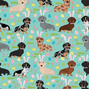 doxie easter egg fabric dachshund dogs fabric easter eggs