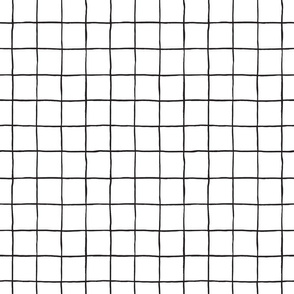Grid, black and white