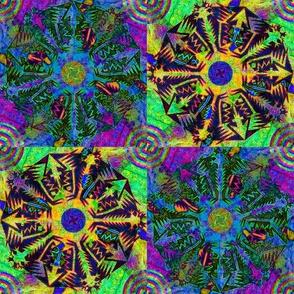 Pentagonal Snowflakes 8