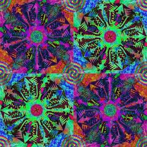 Pentagonal Snowflakes 6