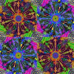 Pentagonal Snowflakes 4