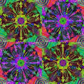 Pentagonal Snowflakes 3