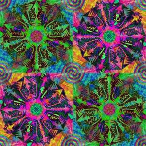 Pentagonal Snowflakes 2