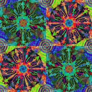 Pentagonal Snowflakes 1
