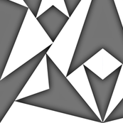 White-GrayTriangles 3d