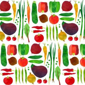 Summer vegies