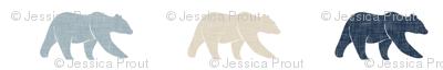 rustic woods linen bears