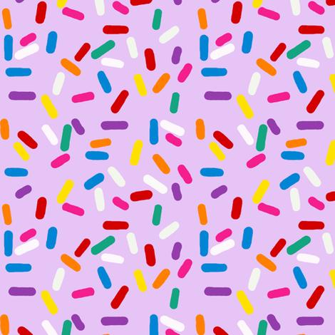 Jimmies sprinkles fabric by mulo_marrone on Spoonflower - custom fabric