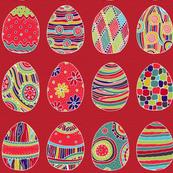 Pretty Painted Eggs