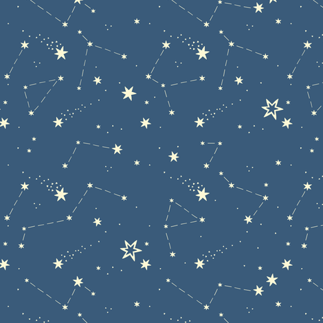 Starry sky fabric alisblack spoonflower for Starry sky fabric