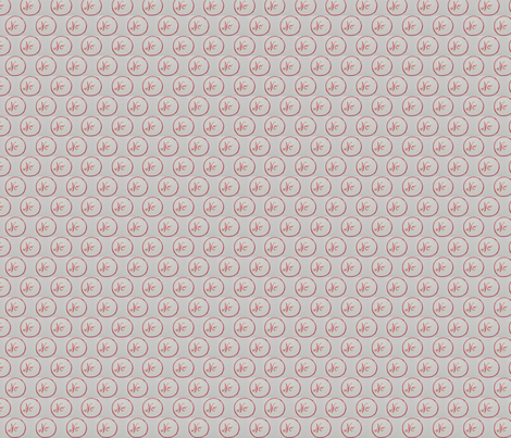 Resist !- Pink No fabric by robyn_love on Spoonflower - custom fabric