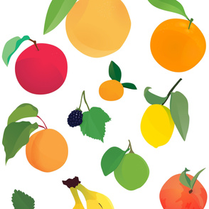 I Love Fruit Wallpaper