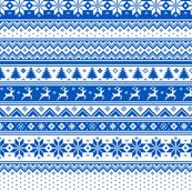 Nordic - Scandinavian Winter Blue