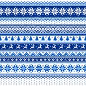 Nordic - Scandinavian Winter Blue2