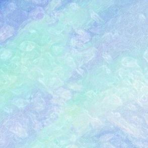 Blue Aqua Salt Texture_Sparkle