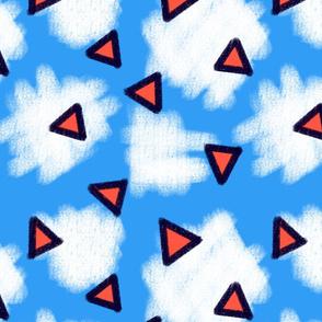 Sorbet Sky Triangles