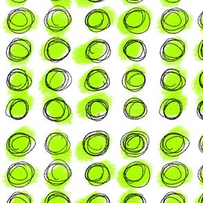 Sorbet Lime Dots