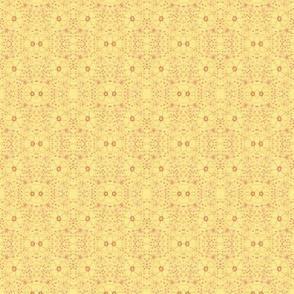 Mirrored Anemones - Yellow