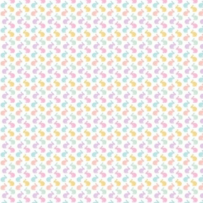 (micro) easter bunnies  || pastel
